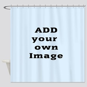 Add Photo Shower Curtain